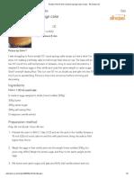 Recipe Print 10 inch round tin sponge cake recipe - All recipes UK