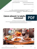 Calorie alimenti_ le tabelle ad i valori nutrizionali _ Project inVictus