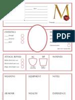 M20CharacterSheet