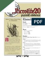 Micro Lite 20 Purest Essence