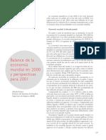Economía mundial en 2000
