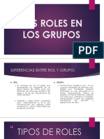 Los Roles en Los Grupos