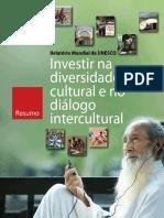 Investir na diversidade cultural e no diálo