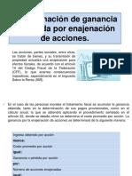 Determinación de ganancia o perdida por enajenación de.pptx