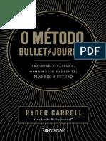 O metodo Bullet Journal - Ryder Carroll