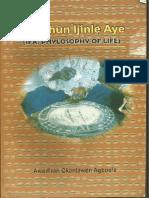 Ifa Ohun Ijinle Aye - Ifa phylosofy of life - Awodiran O. Agboola