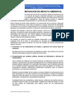 SISTEMA DE MITIGACION DE IMPACTO AMBIENTAL