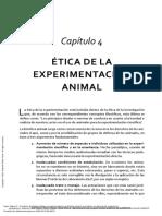 2. Capo, A. (2016) Principios de bioética global. Capítulo 4 Ética de la Experimentación Animal. (1)