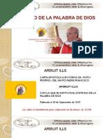 DOMINGO DE LA PALABRA DE DIOS.pptx