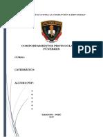 COMPORTAMIENTOS PROTOCOLARES Y FUNEBRES- MODIFICADO