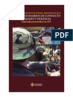 NUEVOS ESCENARIOS DE CONFLICTO ARMADO Y VIOLENCIA Panorama posacuerdos con AUC - Región Caribe, Antioquia y Chocó
