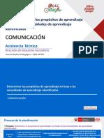 PPT DETERMINACIÓN DEL PROPÓSITO COMUNICACIÓN