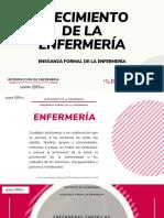 CRECIMIENTO DE ENFERMERÍA