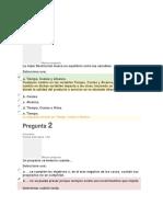 Evaluaciones Gerencia de Proyectos