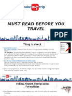 Must Read Before You Travel -D-5 PPT-2