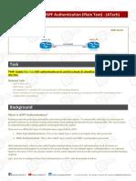 Lab - OSPF PlaintxtATech