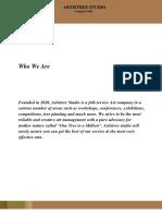 ARTISTREE COMPANY PROFILE