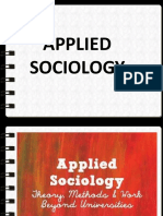 APPLIED SOCIOLOGY 2.0