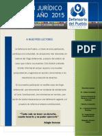 Boletín Jurídico 5 - 2015