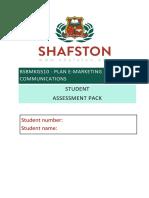 BSBMKG10 Student Assessment Pack V2.2