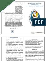 CELEBRACION PENITENCIAL COMUNITARIA 2016 version libro
