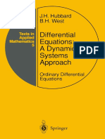 John H. Hubbard, Beverly H. West auth. Differential Equations A Dynamical Systems Approach Ordinary Differential Equations