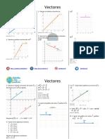Vectores - Ejercicios Resueltos PDF