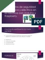 Parámetros de seguridad electrónica y eléctrica en la MODULO 2