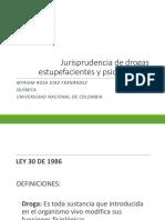 Jurisprudencia de drogas estupefacientes y psicotropicas.pptx