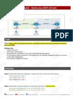 Lab - Multi-Area OSPFATech