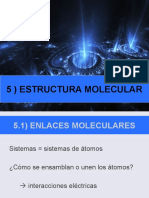 5. Estructura Molecular