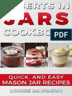 Desserts in Jars Cookbook_ Quic - Louise Davidson