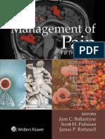 Bonicas Management of Pain 5th Edition.pdf