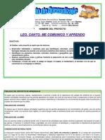 Proyecto Aprendizaje Sandalio Gomez