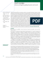Trigeminal neuralgia new classification and diagnostic grading