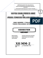 Cover Jurnal Kelas Genap 1920.doc