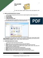 MICROSOFT ACCESS (Pengolahan Database)