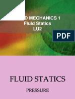 LU2- Fluid Pressure Manometer