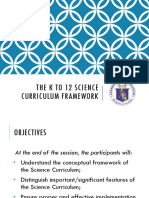 1 Science Framework