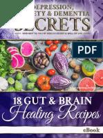 18 Gut & Brain Healing Recipes