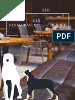 Mobiliario pet friendly