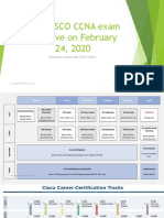 New CISCO CCNA CCNP CCIE Exam Goes Live on February 2020