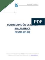 DIR-300 Configuracion de Red Inalambrica