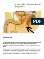 Ejercicios de Kegel para hombre – Fortalecimiento de los músculos del suelo pélvico - 39ymas
