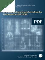 Ensenanza experimental Quimica UNAM 2013