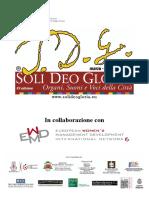 Programma di sala CLARA 26 ott 2019 EWMD Istituto Peri-Merulo (Reggio Emilia)