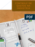 Controle de Gastos na Industria - SEBRAE-SP