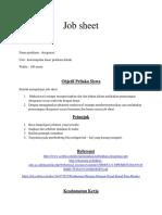 job sheet terapi oksigen