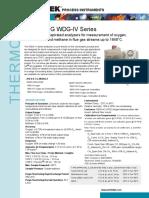WDG IV O2 analyser