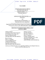 Defendant Intervenor Filing, PERRY v. SCHWARZENEGGER, Prop 8